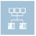 Icon Netzwerktechnik