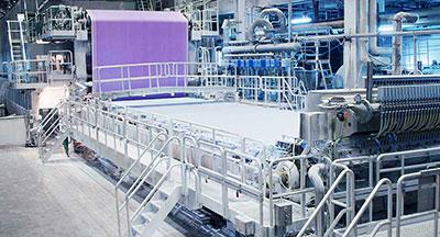 Automatisierungs- und Antriebstechnik für Papier- und Zellstoffindustrie
